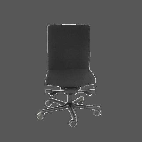 LO250 er en bevægelig og ergonomisk kontorstol. Ergoforma.