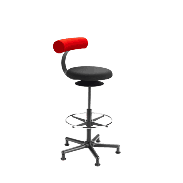 Count skrankestol til reception, laboratorie eller pakkebord. Ergoforma.