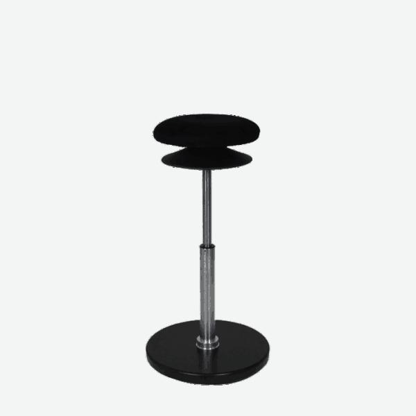 Disc stå støtte stol til aflastning når du står ved hæve sænkebordet. Ergoforma.