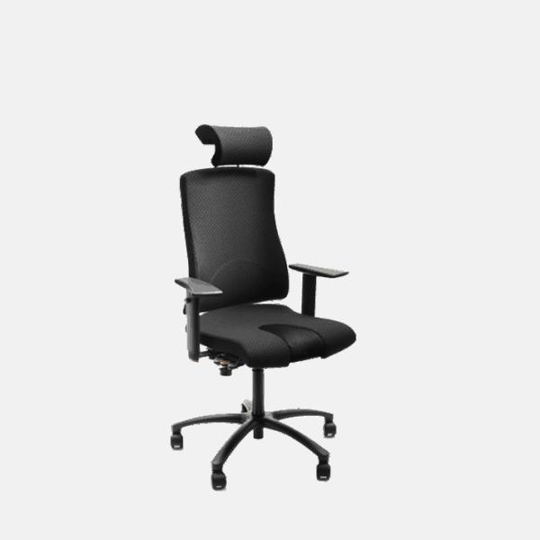 ECO Situp stolen kan også bruges som stå støtte stol.