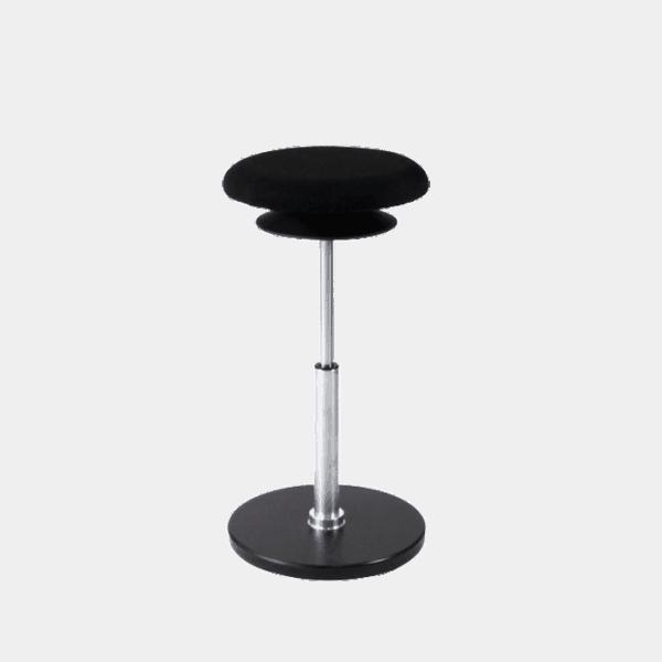 Ergo Multistol i høj udgave bruges også som stå støtte stol. Ergoforma.