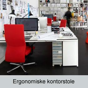 Ergonomiske kontorstole til mennesker med forskellig højde, drøjde og problemer