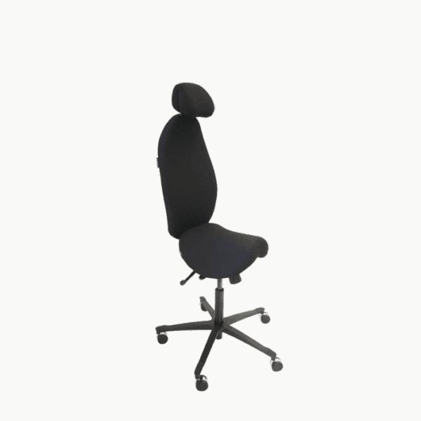 Malmstolen High5 - stå støtte stol med ryglæn. Ergoforma.