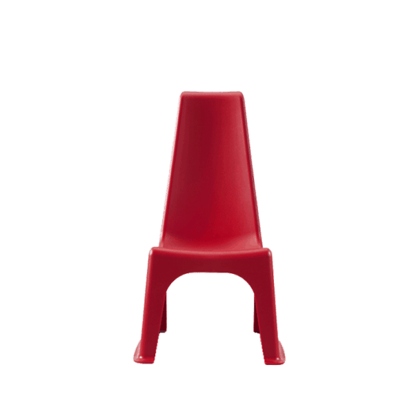 Junior børnestol - en robust stol i mange farver til inde og ude. Ergoforma.