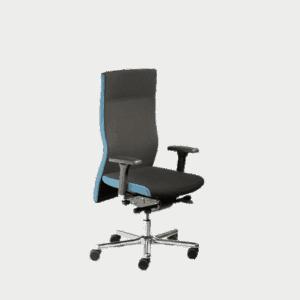 LO 450 kontorstolen fra Ergoforma er god til høje personer.