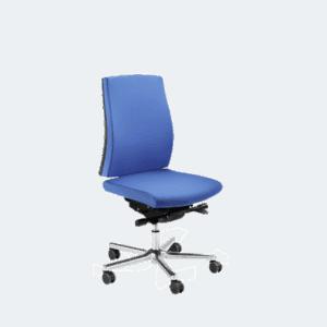 LO950 kontorstolen med 360 grader bevægelse i sædet. Ergoforma.