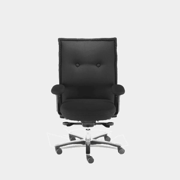 Knopfler stolen er en skøn og utraditionel kontorstol til kontoret og hjemmet. Ergoforma.