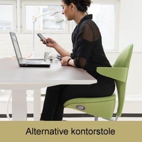 Find en alternativ kontorstol hos Ergoforma - f.eks. Lei stolen til kvinder