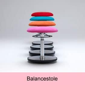 Balance og vippestole til at træne ryggen