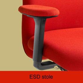 ESD stole for at undgå statisk elektricitet i følsomme miljøer