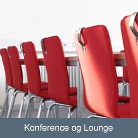 Stole til konferencelokalet, mødelokalet eller loungen