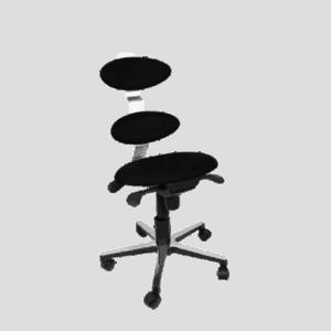 Spinella er en ergonomisk og flot kontorstol. Ergoforma.
