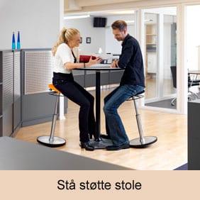 Mange typer af stå støtte stole med bevæglese