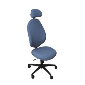 Malmstol R2 kræver ingen indstilling og er derfor perfekt til 2 eller flere personer, der deler stol. Ergoforma.