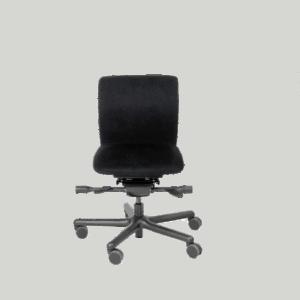 LO 100 kontorstol til lave personer. Ergoforma.
