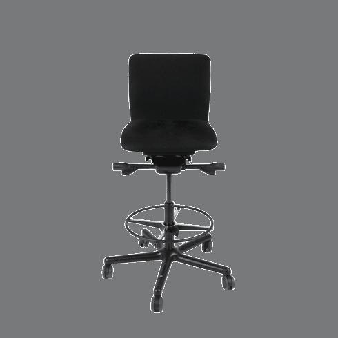 LO 050 receptionsstol er lille og handy med god ergonomi.