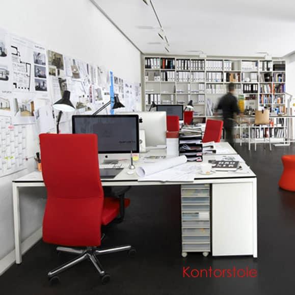 Kontorstole med bevægelse - LO-serien af ergonomiske kontorstole
