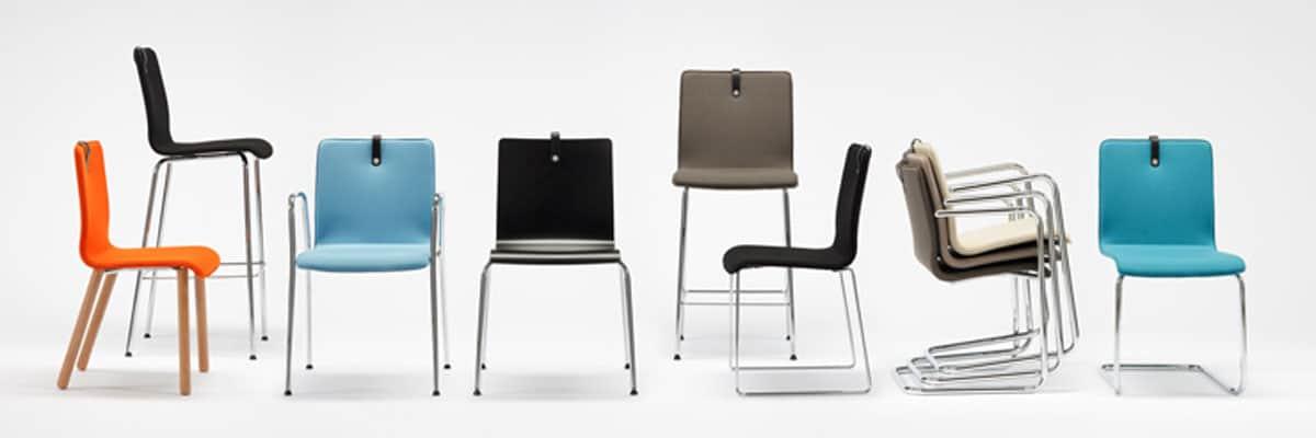 Gæstestole og mødestole fra Ergoforma